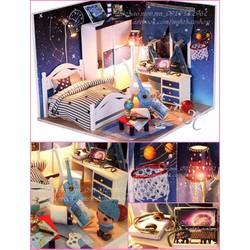 Mô hình DIY phòng ngủ