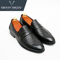 Giày lười Loafer da Ý cao cấp ST58B