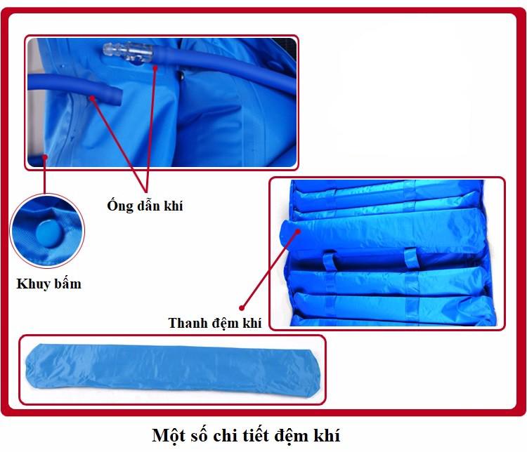 Đệm khí chống loét Nikita DK06 3