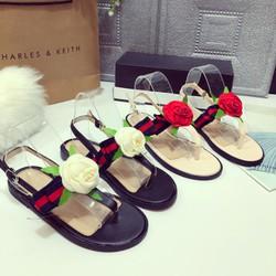 Giày Sandal Hoa hồng SHOP CHỤP THẬT