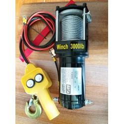 Tời nâng điện 12v-3000