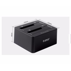 hdd box 2.5 3.5 Orico 2 khay , USB-3.0