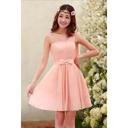 Đầm Xòe Cúp Ngực Công chúa Lệch Vai - DDD2062