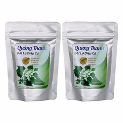 Combo 2 bột diếp cá Quảng Thanh chữa nóng trong, táo bón, trĩ hiệu quả