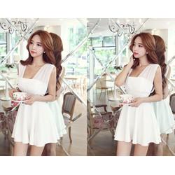 Combo 10 Đầm nữ thời trang, kiểu dáng không tay, sỉ 170k