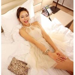 Combo 10 Đầm nữ thời trang, kiểu dáng không tay, sỉ 188k