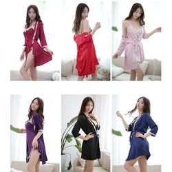 Áo choàng váy ngủ phi nhiều màu gợi cảm TK1163
