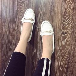 Giày mọi nữ đẹp đính khoá