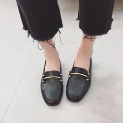 Giày mọi nữ khoá ngang