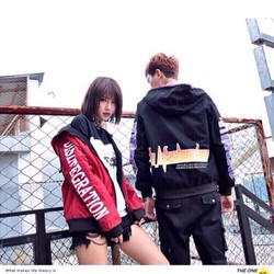 áo khoác dù dành cho nam và nữ