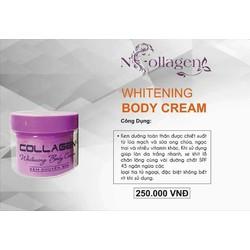 Cream body trắng da Collagen