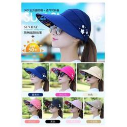Mũ chống nắng thời trang phong cách Hàn Quốc