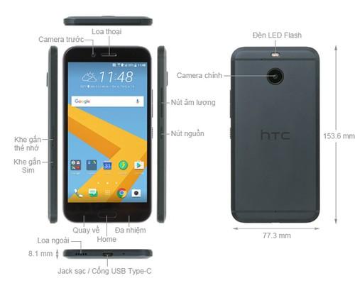 Điện thoại HTC 10 evo 15