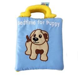 Sách vải lật mở bedtime for puppy