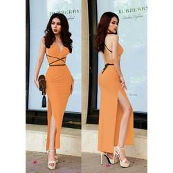 Đầm body xẻ tà sexy