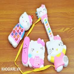 Bộ đồ chơi điện thoại,đàn, micro cho bé