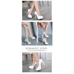 Giày cao gót cao 12cm