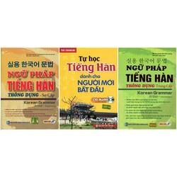 Bộ Ngữ Pháp Tiếng Hàn Thông Dụng Sơ - Trung Cấp Tặng Tự Học Tiếng Hàn