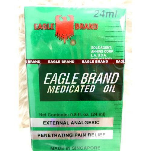 Dầu gió xanh mỹ eagle brand medicated oil 24ml lốc 12 chai - 16897473 , 8978433 , 15_8978433 , 1400000 , Dau-gio-xanh-my-eagle-brand-medicated-oil-24ml-loc-12-chai-15_8978433 , sendo.vn , Dầu gió xanh mỹ eagle brand medicated oil 24ml lốc 12 chai