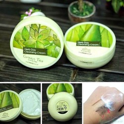 Kem tẩy trang Herb Day Cleansing Cream 365 The Face Shop.