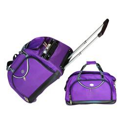 vali túi kéo du lịch Pierre màu tím