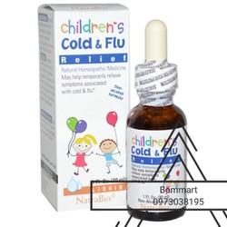 Siro trị cảm cúm sổ mũi children cold flu cho bé chai 30ml