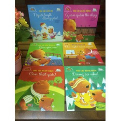 combo 6 cuốn truyện bé học lời hay dành cho trẻ 2 đến 8 tuổi