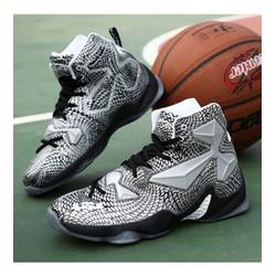 giày thể thao cổ cao năng động Mã: GH0449 - BẠC