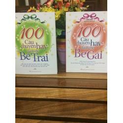 Combo 2 cuốn 100 câu truyện dành cho bé trai và bé gái