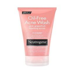 Sữa rửa mặt Trị mụn Neutrogena Oil-Free Acne Wash Pink Grapefruit