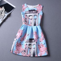 COMBO 10 SỈ 160K Đầm nữ thời trang, kiểu dáng không tay, phong cách