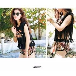 Đồ bơi bikini 4 mảnh thời trang Hàn Quốc_BK58