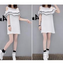 COMBO 10 SỈ 90K Đầm nữ thời trang, màu sắc sang trọng nữ tính, mẫu Hàn