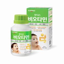 Men vi sinh ILDONG hỗ trợ hệ tiêu hóa Hàn Quốc - Lọ 120g 0m+