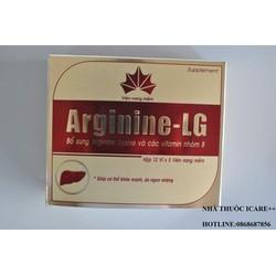 ARGININE -LG - HỖ TRỢ CẢI THIỆN CHỨC NĂNG GAN, ĂN UỐNG KÉM