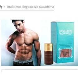 Thuốc mọc lông cao cấp Nakashima đến từ Nhật