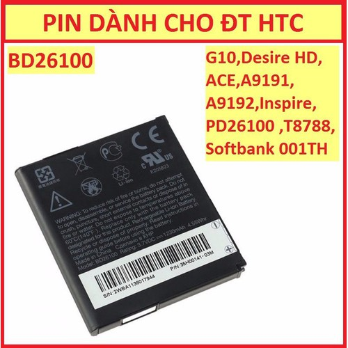 PIN HTC SOFTBANK 001TH - 4993010 , 8998004 , 15_8998004 , 99000 , PIN-HTC-SOFTBANK-001TH-15_8998004 , sendo.vn , PIN HTC SOFTBANK 001TH