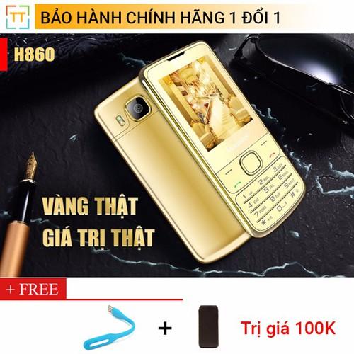 Điện thoại Masstel H860- Vàng thật 24K hàng hiệu - Hàng chính hãng - 5382321 , 8989695 , 15_8989695 , 750000 , Dien-thoai-Masstel-H860-Vang-that-24K-hang-hieu-Hang-chinh-hang-15_8989695 , sendo.vn , Điện thoại Masstel H860- Vàng thật 24K hàng hiệu - Hàng chính hãng