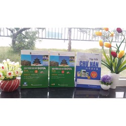 Combo Giáo Trình Hán Ngữ BOYA sơ cấp 1+2 - Tặng sách 70K