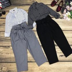 Set áo sơmi quần dài
