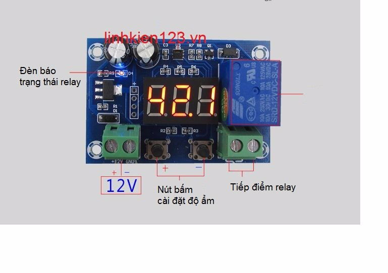 Bộ điều khiển theo độ ẩm XH-M451 1