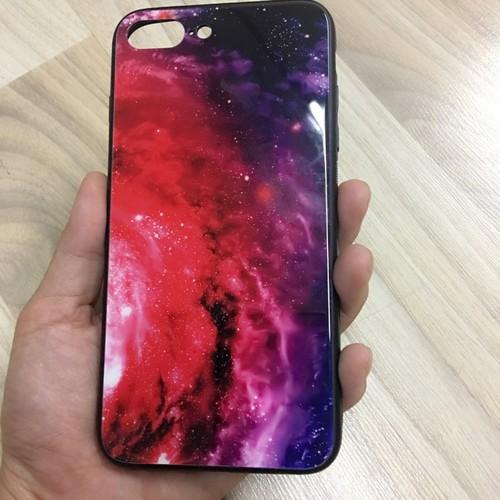 Ốp lưng Iphone 7 8 plus kính hình Vũ trụ Galaxy - 5386842 , 8999885 , 15_8999885 , 110000 , Op-lung-Iphone-7-8-plus-kinh-hinh-Vu-tru-Galaxy-15_8999885 , sendo.vn , Ốp lưng Iphone 7 8 plus kính hình Vũ trụ Galaxy
