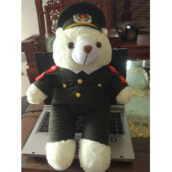 gấu công an 45cm
