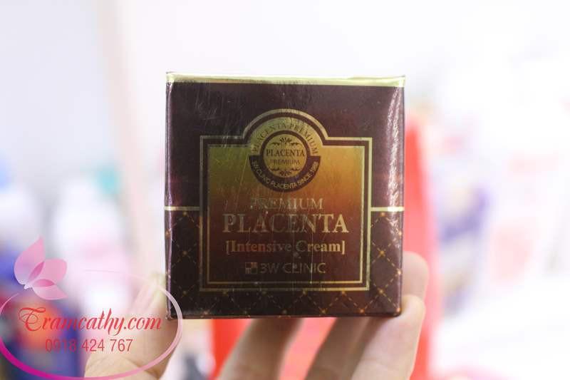 Kem dưỡng da chống lão hóa 3W Clinic Premium Placenta Age Repair Cream 1