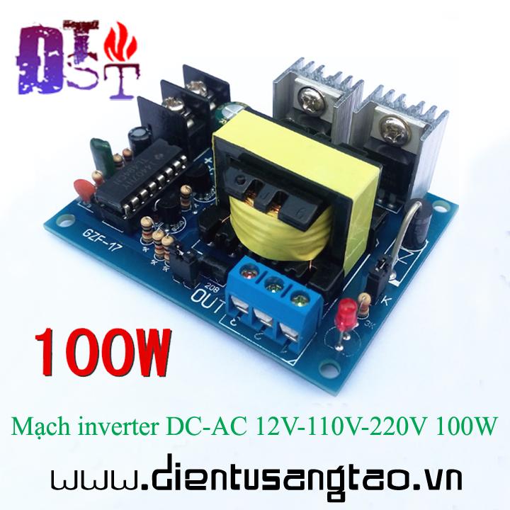Mạch inverter DC-AC 12V-110V-220V 100W 1