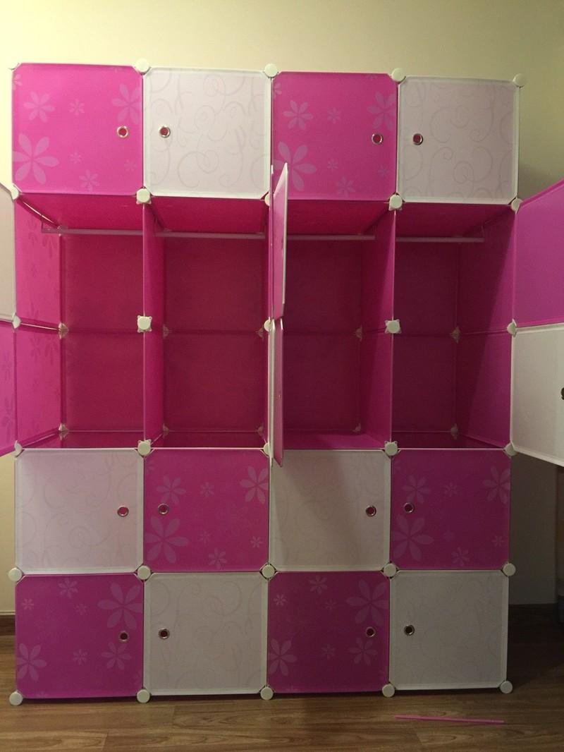 Tủ quần áo nhựa lắp ráp ghép thông minh đa năng 12 ô giá rẻ lá phong 15