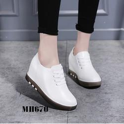 Giày tăng chiều cao nữ đẹp 2018-MH670
