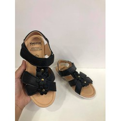 Sandal hoa baby girl màu Đen