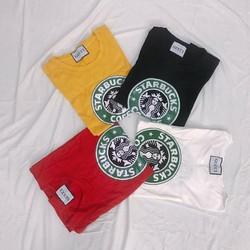 Áo thun nữ in hình Starbuck form rộng Freesize