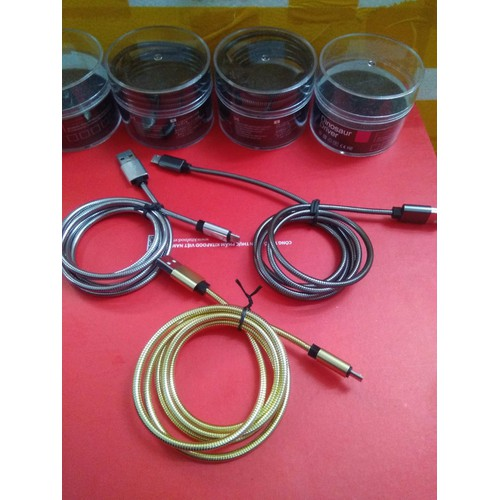 Cáp sạc  bọc thép chống dối chống đứt dùng cho samsung, oppo - 5584252 , 9416483 , 15_9416483 , 130000 , Cap-sac-boc-thep-chong-doi-chong-dut-dung-cho-samsung-oppo-15_9416483 , sendo.vn , Cáp sạc  bọc thép chống dối chống đứt dùng cho samsung, oppo